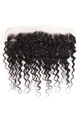 13x4 Virgin Deep Curly Lace Frontal-Liyah Hair
