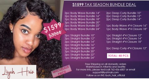 $1599 Tax Season Bundle Deal