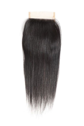 4x4 Virgin Straight Lace Closure-Liyah Hair
