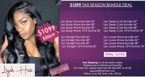 $1099 Tax Season Bundle Deal - Long Waves