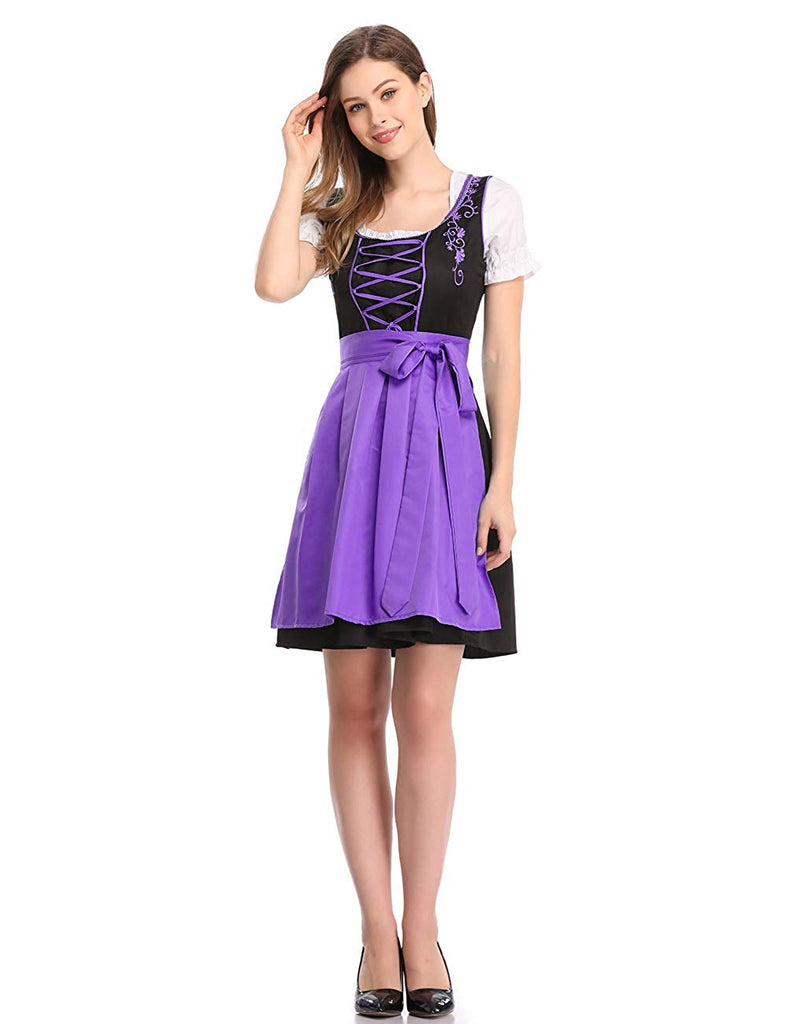 Limited Traditional Dirndl Dresses Blouse Apron for Oktoberfest