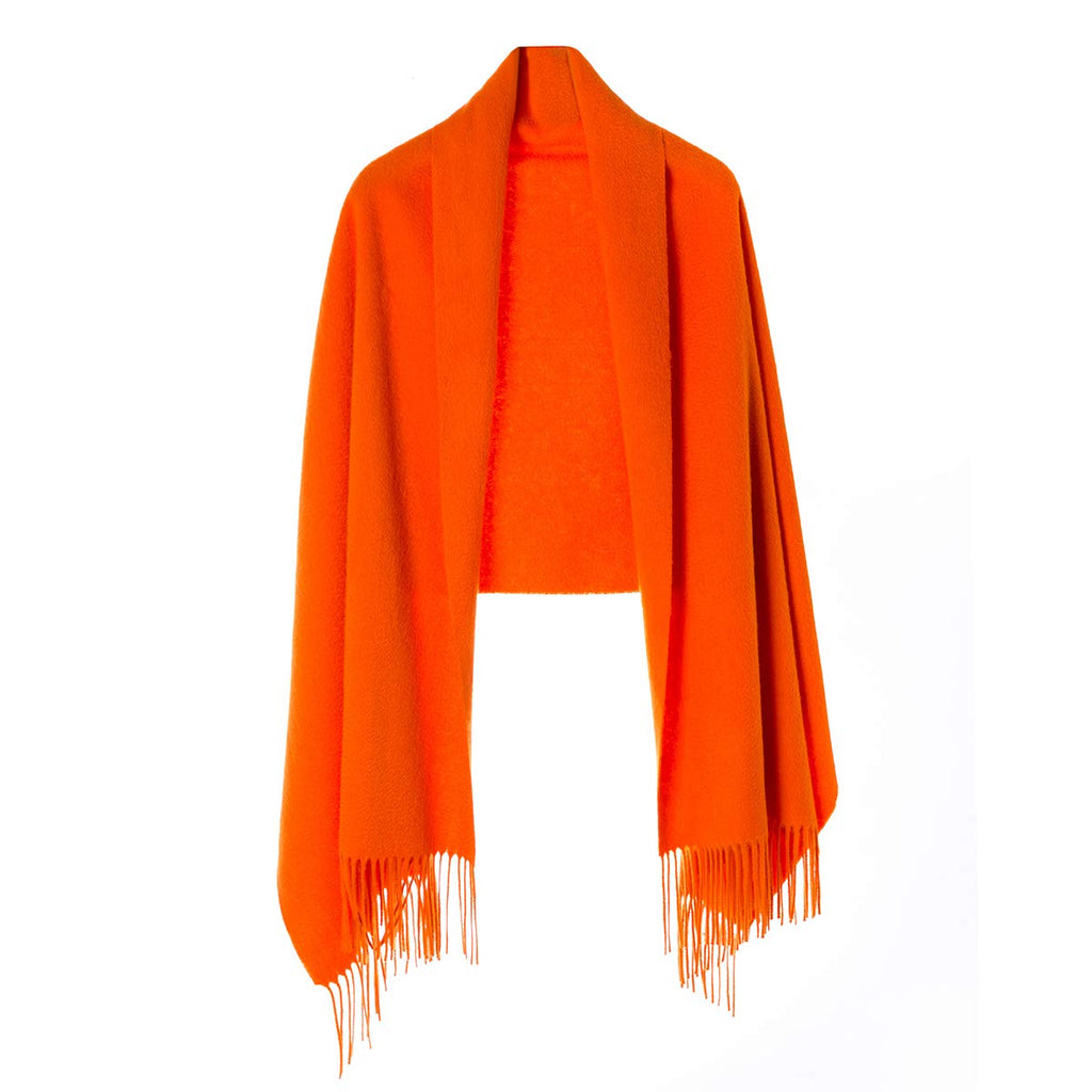 Wrap Shawl for Women | Authentic 100% Pure Cashmere Extra Large (75inx25.6in) Scarf