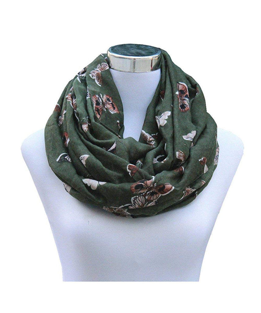 Soft Sheer Lightweight Infinity Scarf for Women Loop Circle Scarves