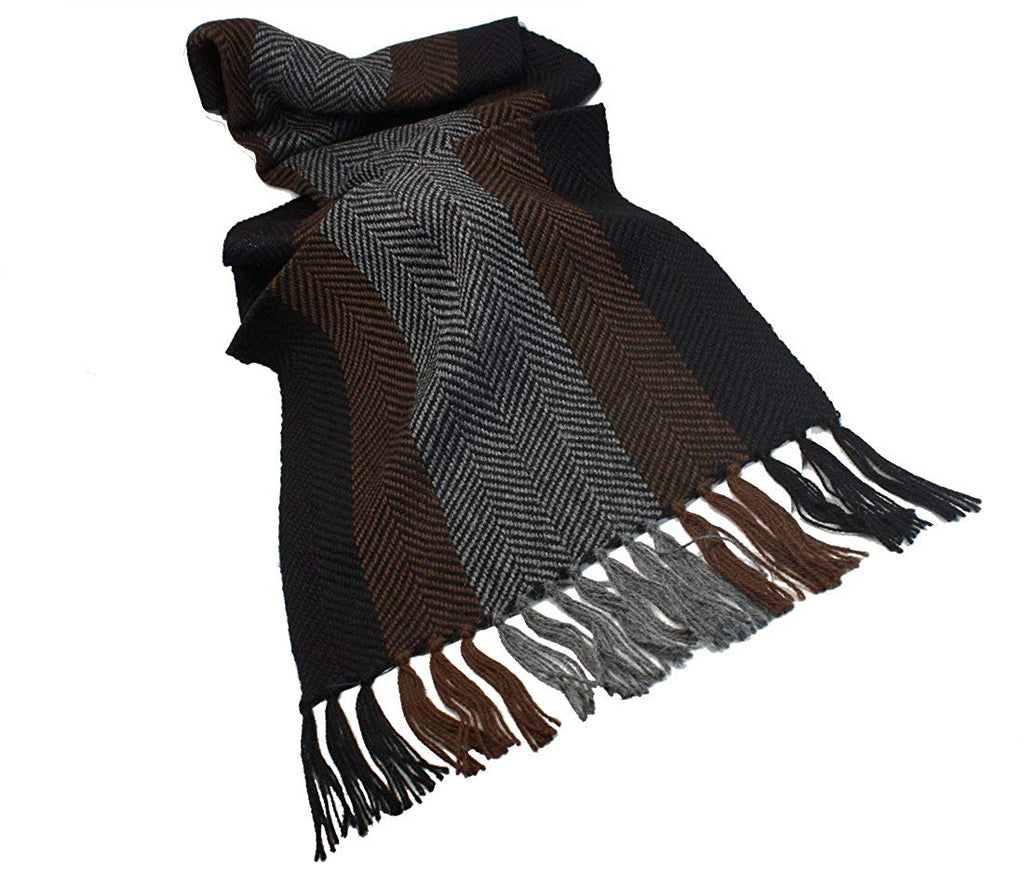 Weavers Scarf Unisex 100% Alpaca Wool 60  x 13  Made in Ireland