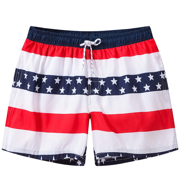 Men's Swim Trunks Quick Dry Bathing Suit Beach Shorts