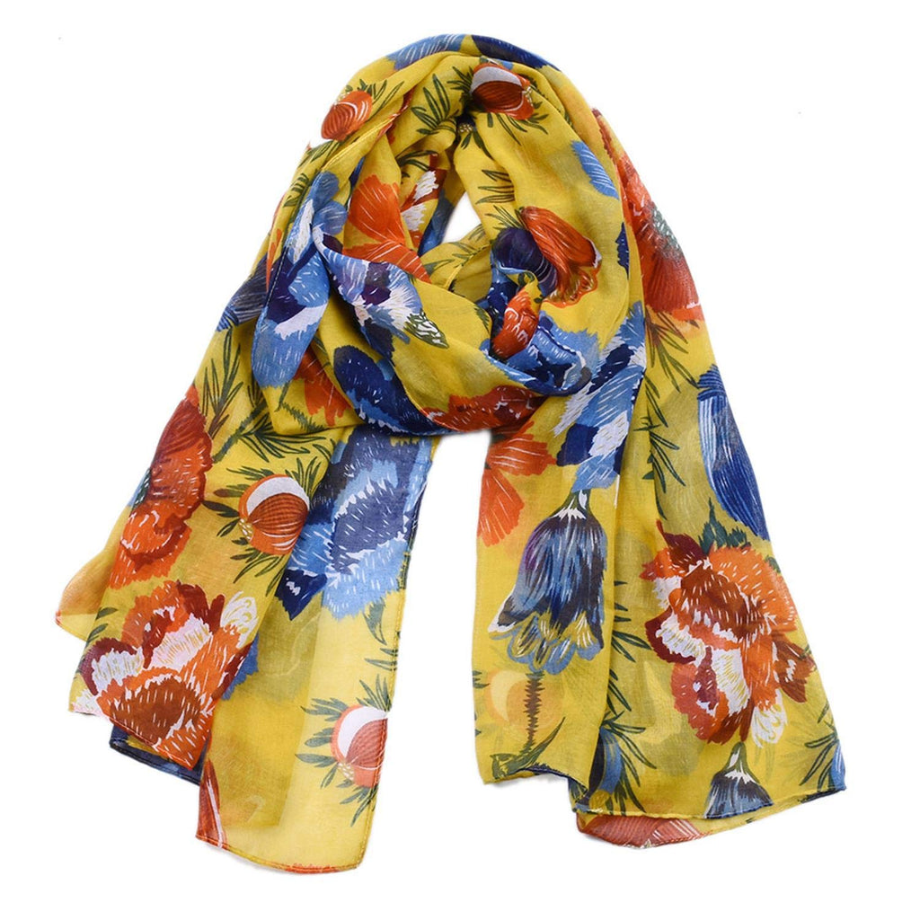 Women's Cotton Scarves Lady Light Soft Fashion Solid Scarf Wrap Shawl