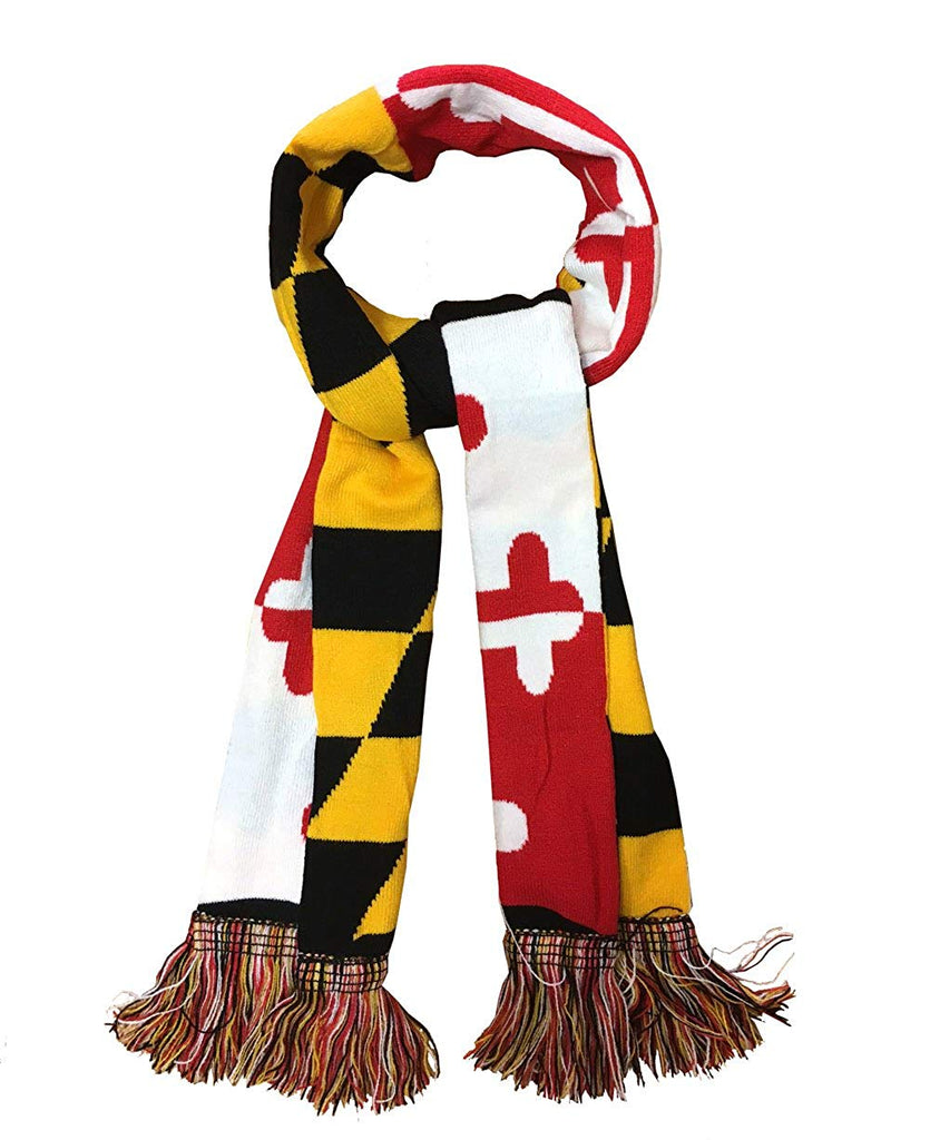 Flag Winter Knitted Scarf