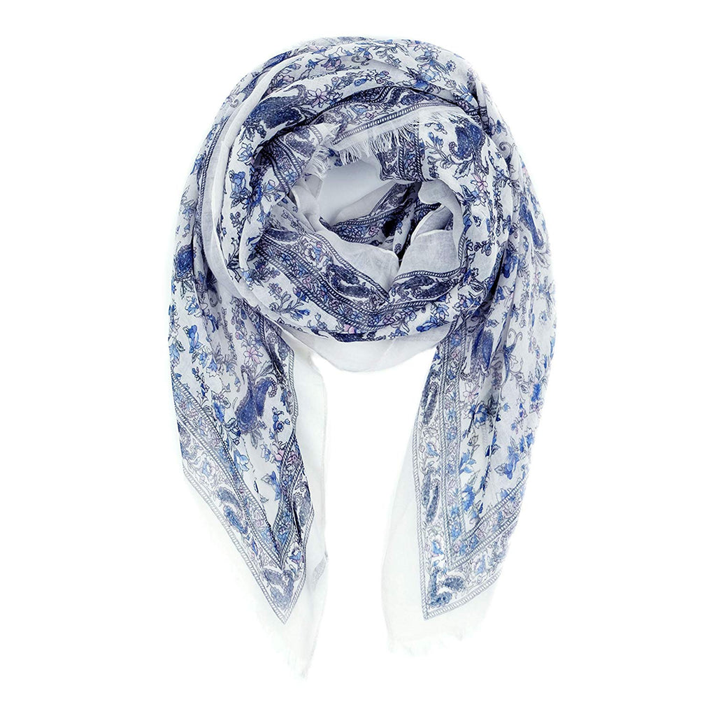 for Women Lightweight Floral Flower Fall Winter Fashion wrap by MIMOSITO