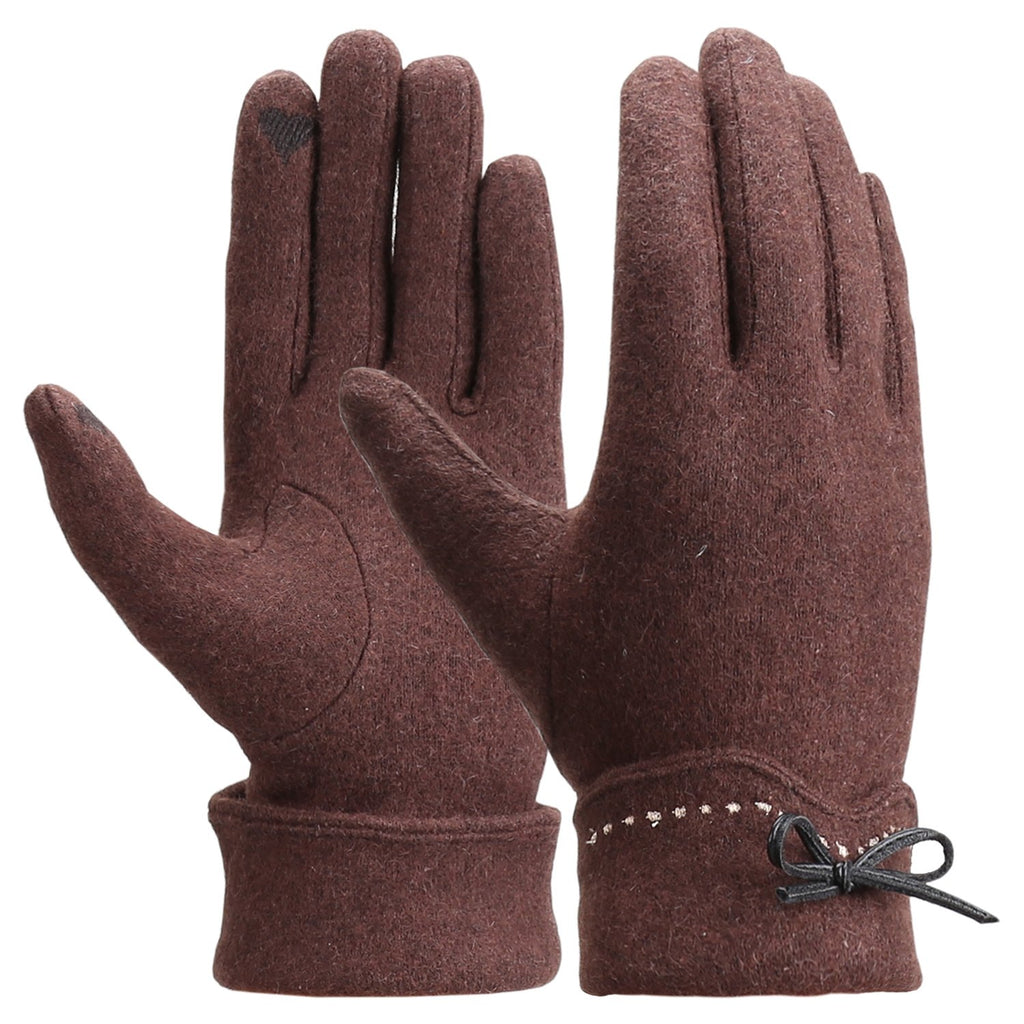 Winter Touch Screen Gloves Warm Fleece Lined Gloves Hand Warmer Women