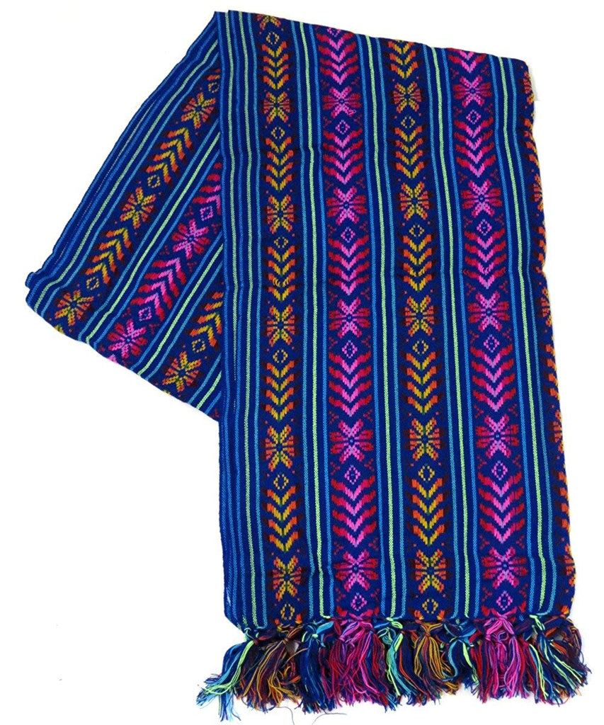 9 ft Long Doula Mexican Rebozo Shawl