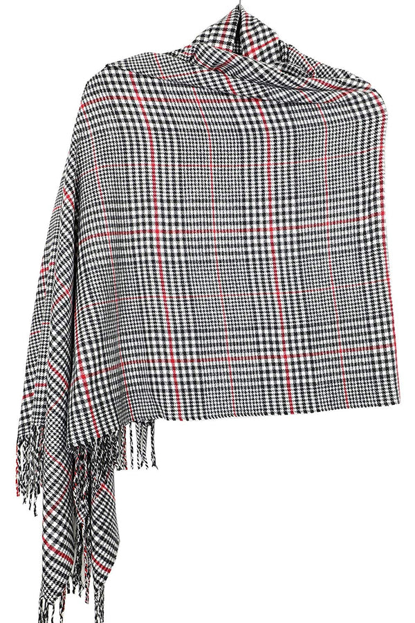 "Oversized Cashmere Feel Scotland Scottish Tartan Plaid Scarf Shawl Wrap Winter Warm 80"" x 30"""
