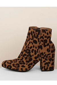 Leopard Ankle Booties – petrune