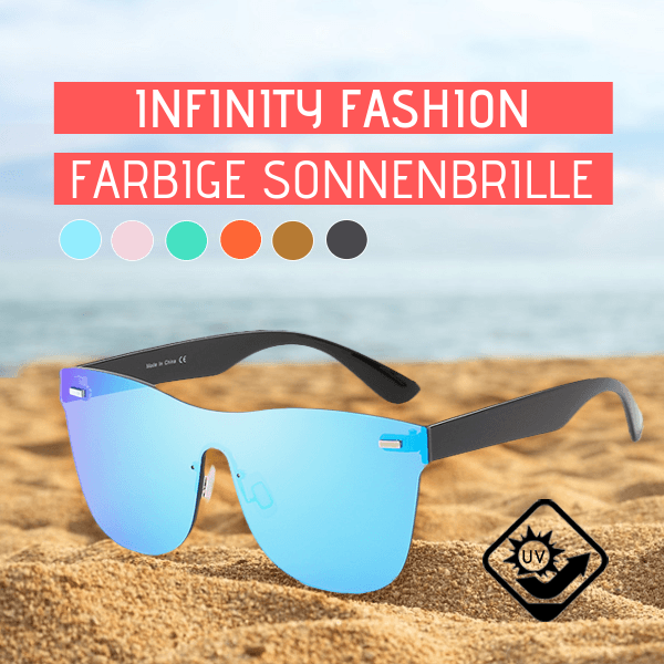 Infinity Fashion Farbige Sonnenbrille