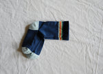 Navy Retro Stripe Crew