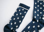 Midnight Polka Dot Crew