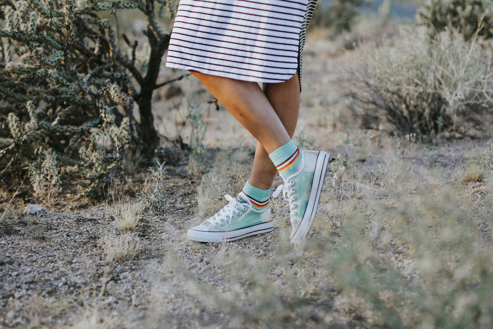 Ocean Retro Stripe Shorty