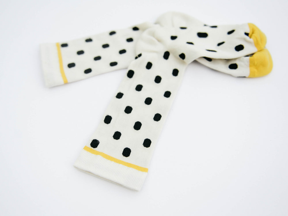 Black and White Polka Dot Crew