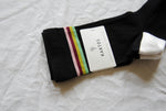 Blackberry Retro Stripe Crew