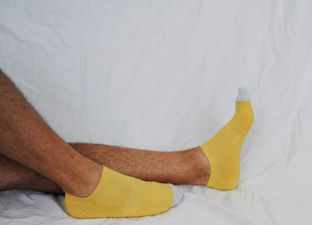 Men's Bold Yellow Anklet