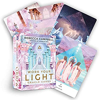 Work Your Light Oracle Cards, Ajna Jewels & Gems, Crystal Shop, Australia