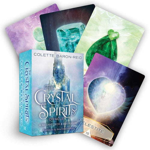 The Crystal Spirits | Oracle Cards | Ajna Jewels & Gems | Crystal Shop | Brisbane | Australia