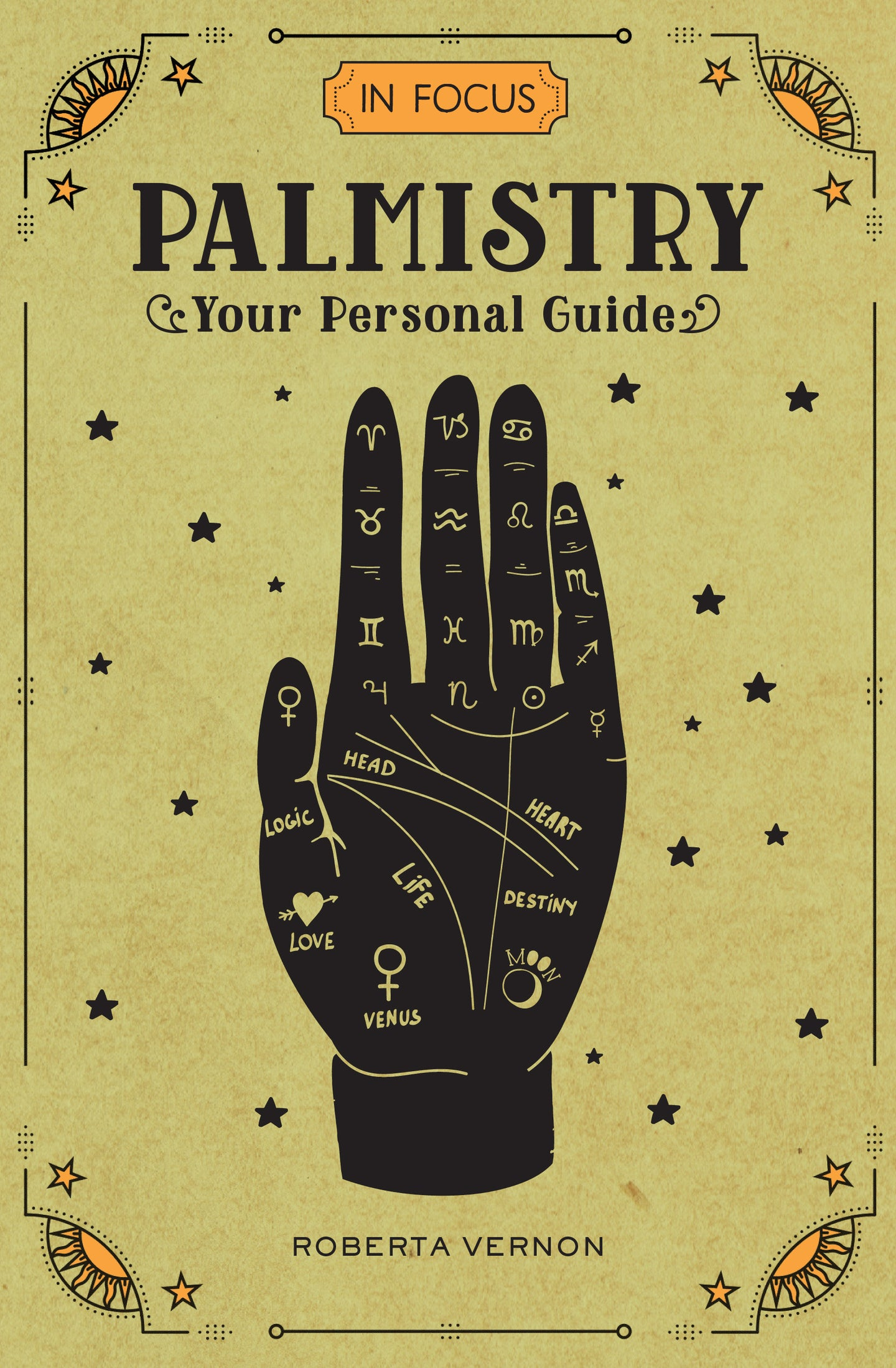 Palmistry Your Personal Guide | Roberta Vernon | Book | Ajna Jewels & Gems | Crystal Shop | Brisbane | Australia