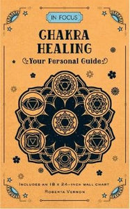 Chakra Healing Your Personal Guide | Roberta Vernon | Book | Ajna Jewels & Gems | Crystal Shop | Brisbane | Australia