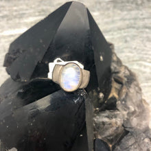Rainbow Moonstone 925 Sterling Silver Ring | Ajna Jewels & Gems | Crystal Shop | Brisbane | Australia