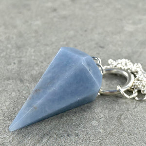 Angelite | Pendulum | Ajna Jewels & Gems | Crystal Shop | Brisbane | Australia