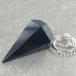 Black Tourmaline  | Pendulum | Ajna Jewels & Gems | Crystal Shop | Brisbane | Australia