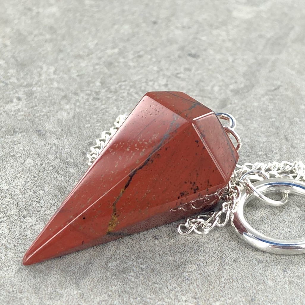 Red Jasper | Pendulum | Ajna Jewels & Gems | Crystal Shop | Brisbane | Australia