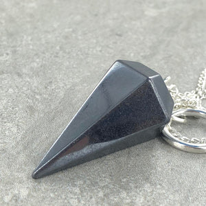 Hematite | Pendulum | Ajna Jewels & Gems | Crystal Shop | Brisbane | Australia