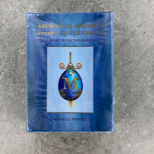Archangel Michael Sword & Shield Oracle | Oracle Cards | Ajna Jewels & Gems | Crystal Shop | Australia