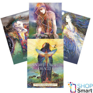 Sacred Earth Oracle | Oracle Cards | Ajna Jewels & Gems | Crystal Shop | Brisbane