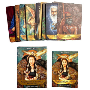Angels and Ancestors | Oracle Cards | Ajna Jewels & Gems | Crystal Shop | Brisbane | Australia