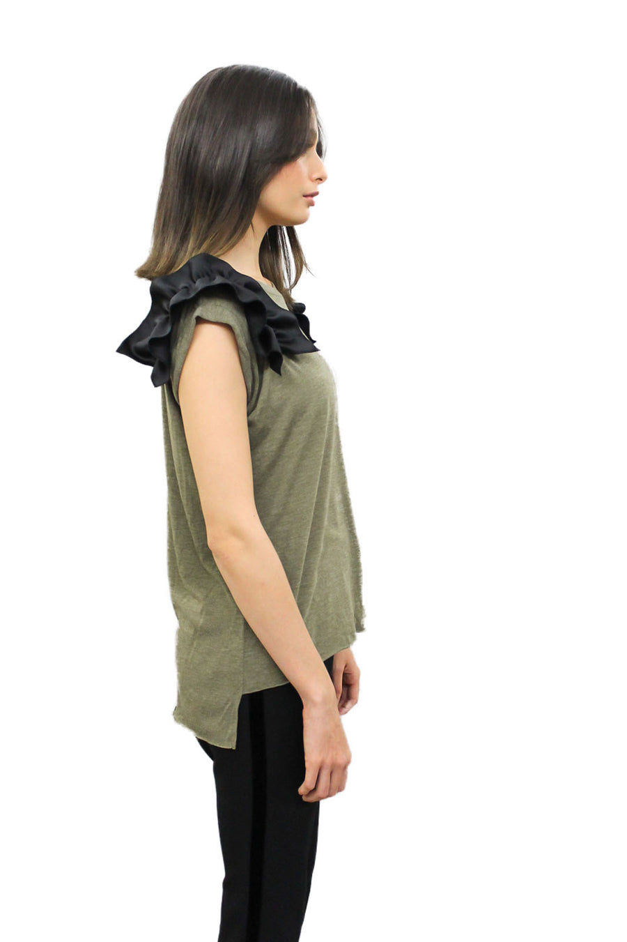 Olive and Black Tees