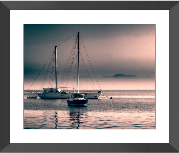 Anchored Out II Framed Giclee Print