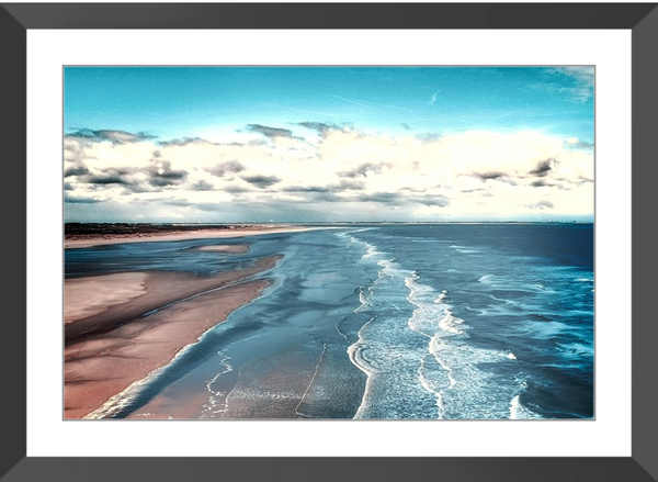 Low Tide II Framed Giclee Print