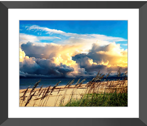 Approaching Storm II Framed Giclee Print