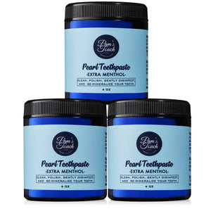 Pearl Teethpaste Extra Menthol 3 Pack