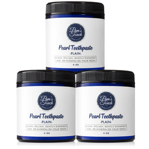Pam's Touch Plain Teethpaste 3 Pack