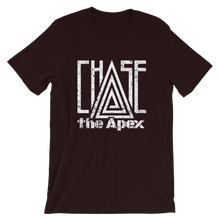 "Load image into Gallery viewer, Chase The Apex"" Black Tee"