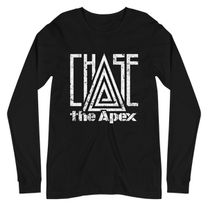 Open image in slideshow, Chase The Apex - Black Long Sleeve