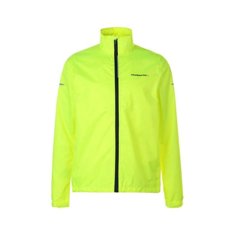 Cycle Jacket Mens - Fluorescent Green