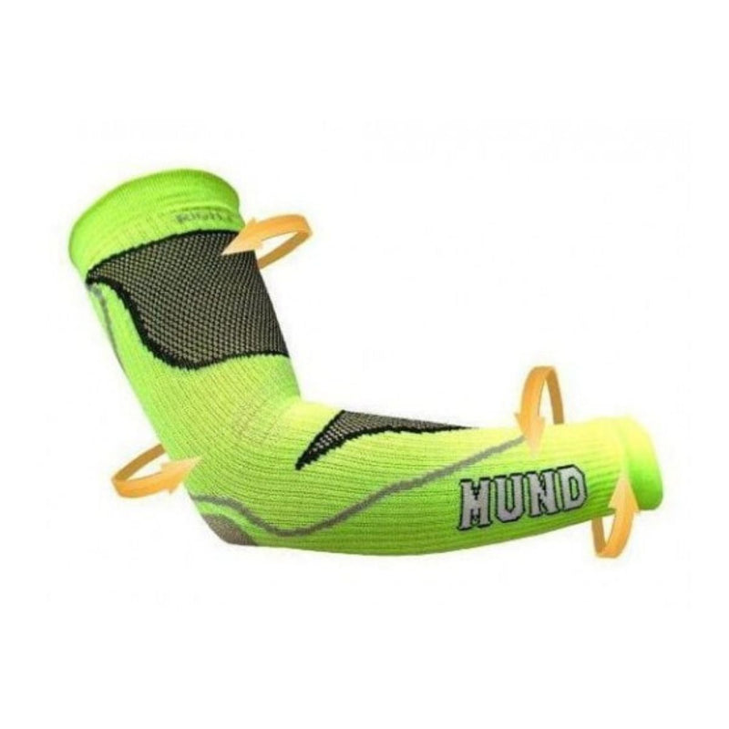 Manguitos DTC Arm Sleeves Pair - Lime Green