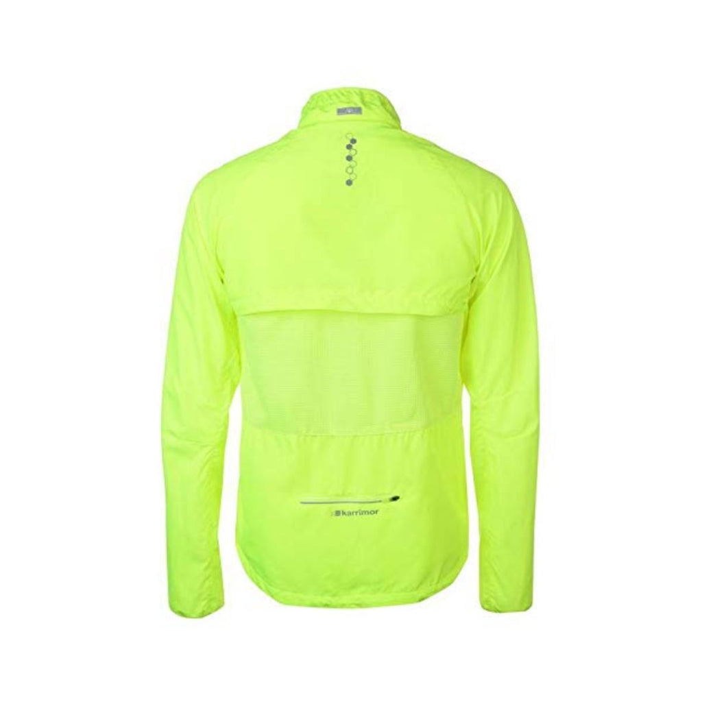 X Convertible Mens Jacket - Fluorescent Green