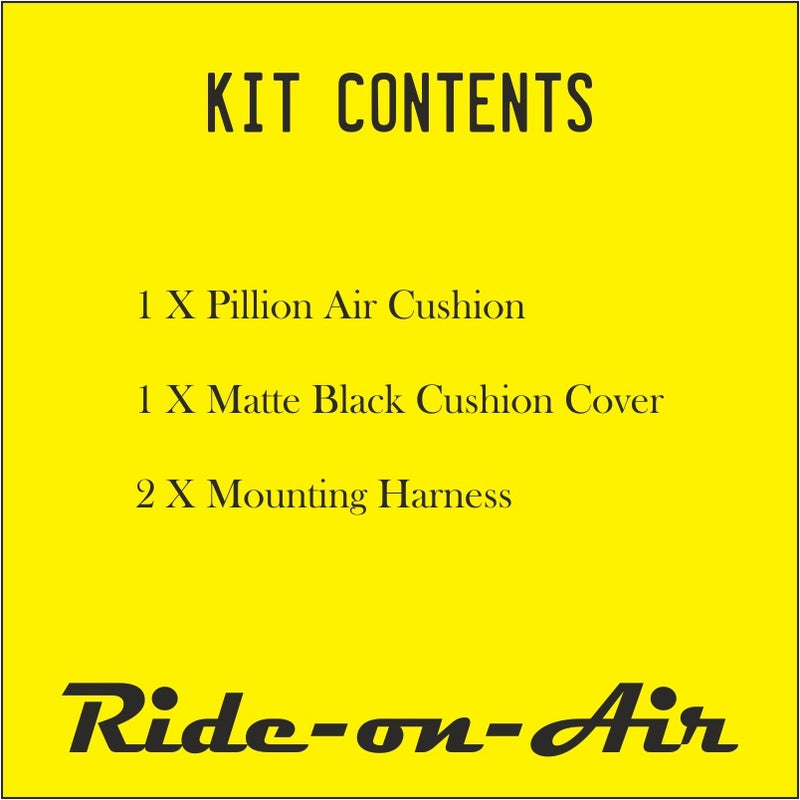 Pillion - Alpha - Air Seat