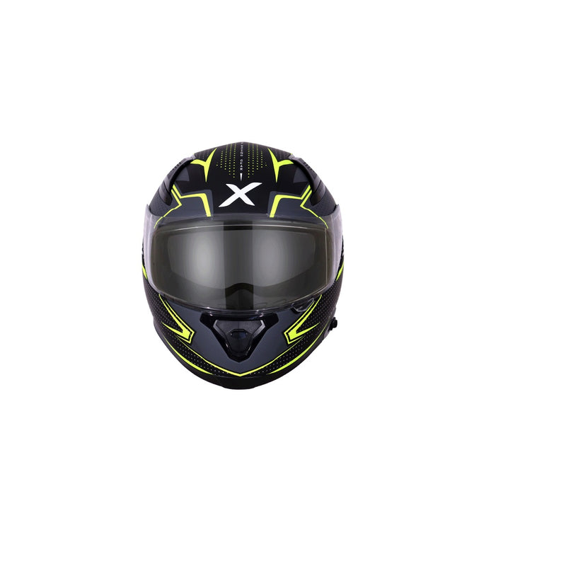 Apex Grid D/V - Dull Black Neon Yellow