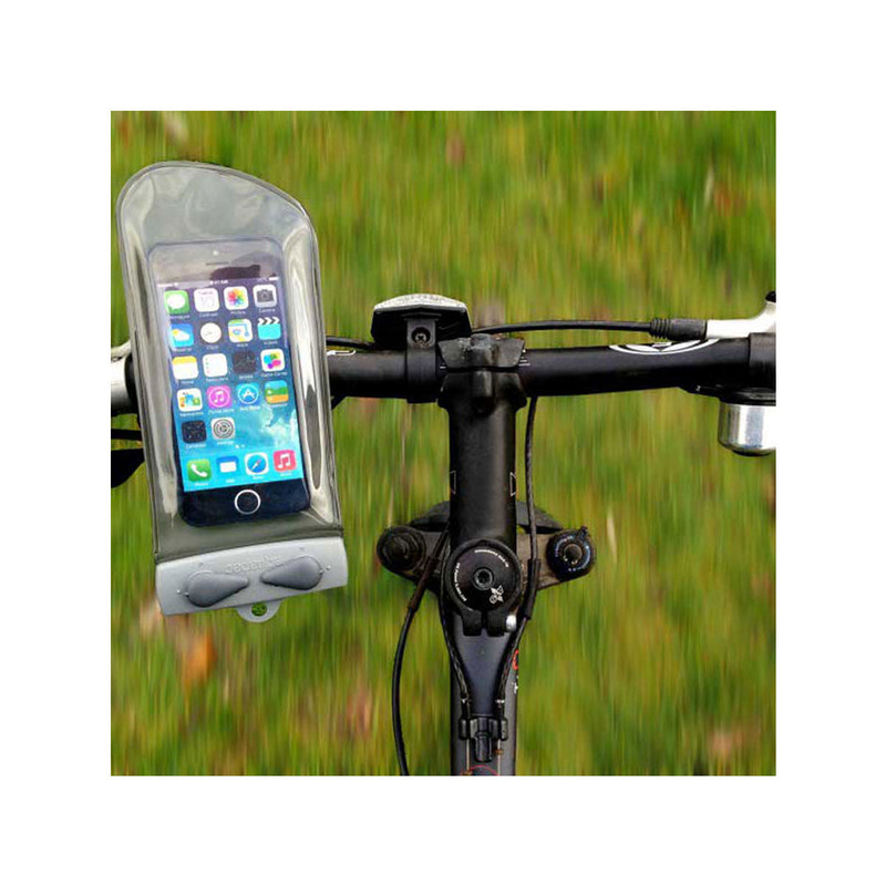 Mini Bike-Mounted Waterproof Phone Case - Fits Screen Sizes upto 5.5