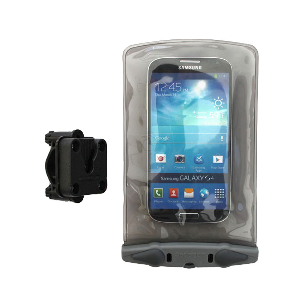 Small Bike-Mounted Waterproof Phone Case - Fits Screen Sizes upto 6""